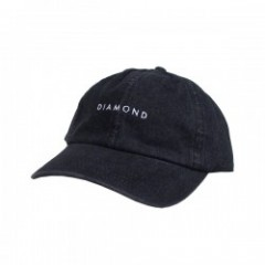 "DIAMOND SUPPLY CO. ""LEEWAY SPORTS CAP"" (Black)"