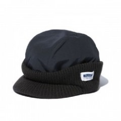 "RADIALL キャップ ""STORM WATCH CAP"" (Black)"