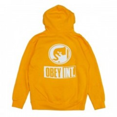 "OBEY パーカ ""OBEY INT. ICON PULLOVER HOOD"" (Gold)"