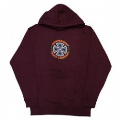 "INDEPENDENT パーカ ""COMBO T/C"" (Maroon)"