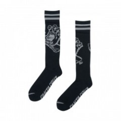 "SANTA CRUZ ソックス ""HAND TALL SOCKS"" (Black)"