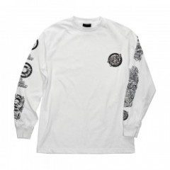 "SANTA CRUZ L/STシャツ ""ROB EVOLUTION L/S TEE"" (White)"