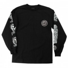 "SANTA CRUZ L/STシャツ ""ROB EVOLUTION L/S TEE"" (Black)"