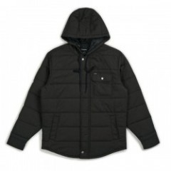 "BRIXTON ジャケット ""CASS HOOD JACKET"" (Black)"