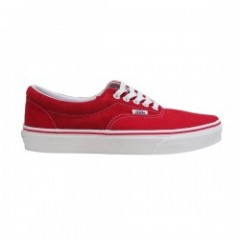 "VANS ""ERA"" (CANVAS/SUEDE) RacingRed"
