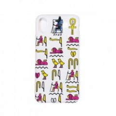 "Deviluse iPHONEケース ""HIEROGLYPHIC iPHONE CASE"" (White) X/XS対応"