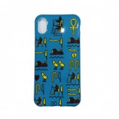 "Deviluse iPHONEケース ""HIEROGLYPHIC iPHONE CASE"" (Green) X/XS対応"