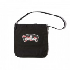 "Deviluse バッグ ""LOGO & CHERRY TOTE BAG"" (Black)"