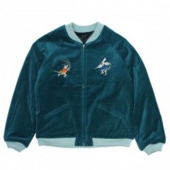 "RADIALL ジャケット ""WARABI SOUVENIR JACKET"" (Blue Green"