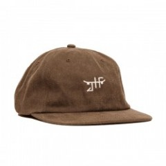 "JHF キャップ ""UNCONSTRUCTED STRAPBAVK CAP"" (Brown)"
