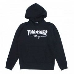 "★30%OFF★ THRASHER パーカ ""THRASHER mag PARKA"" (Black)"