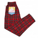 "COOKMAN シェフパンツ ""CHEF PANTS"" (Corduroy Tartan / Red)"
