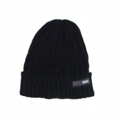 "Deviluse ビーニー ""DUAL NATURE LOGO BEANIE"" (Black)"