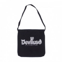 "Deviluse バッグ ""GEOMETRY LOGO BAG"" (Black)"