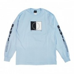 "Deviluse ""DUAL NATURE LONG SLEEVE TEE"" (Lt. Blue)"