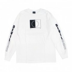"Deviluse ""DUAL NATURE LONG SLEEVE TEE"" (White)"