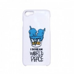 "★30%OFF★ Deviluse ""I SCREAM iPHONE CASE"" (White) 6/6S/7対応"
