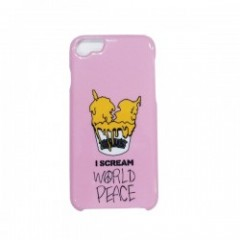 "Deviluse ""I SCREAM iPHONE CASE"" (Pink) 6/6S/7対応"