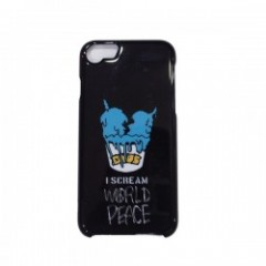 "Deviluse ""I SCREAM iPHONE CASE"" (Black) 6/6S/7対応"