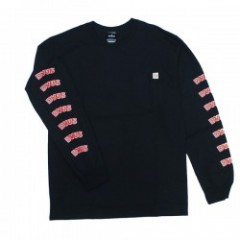 "Deviluse L/SポケットTシャツ ""DVUS L/S POCKET TEE"" (Black)"