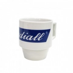 "RADIALL マグカップ ""HAVE A SMOKE BLOCK MUG BIG"" (White)"
