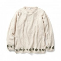 "RADIALL セーター ""SWEET SMOKE SWEATER"" (Oatmeal)"