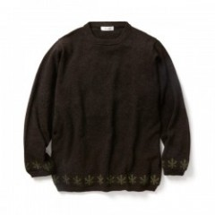 "RADIALL セーター ""SWEET SMOKE SWEATER"" (Brown)"