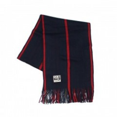 "range マフラー ""RG STRIPE REVERSIBLE MUFFLER"" (Red)"