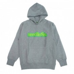 "seedleSs パーカ ""COOP PULLOVER HOODY 12oz"" (H.Grey)"