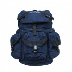 "seedleSs リュック ""NEW HATTAN POCKET BACKPACK"" (Denim)"