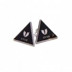 "Deviluse ピアス ""TRIANGLE HEARTACHES PIERCE"" Bk/Silve"