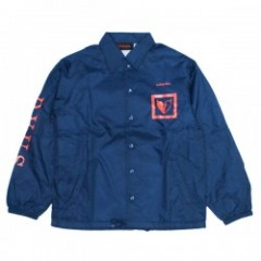 "Deviluse コーチジャケット ""SEEKING MATE COACH JKT"" (Navy)"