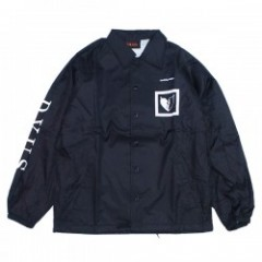"Deviluse コーチジャケット ""SEEKING MATE COACH JKT"" (Black)"