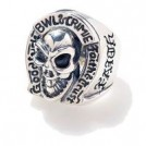 "CRIMIE×BILL WALL ""BW SKULL HORSESHOE RING"""