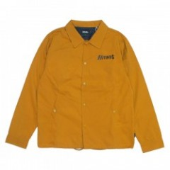 "AFENDS コーチジャケット ""WAVES COACH JACKET"" (Mustard)"