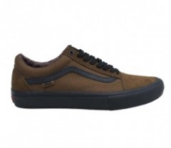 "VANS ""OLD SKOOL PRO"" (DAKOTA ROCHE) Teak/Black"
