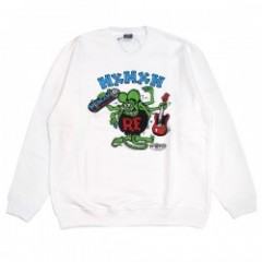 "RATFINK x MxMXM ""MAGICAL MOSH RATFINK SWEAT"" (White)"