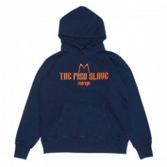 "redrope パーカ ""THE FISH SLAVE PULL HOODIE"" (Indigo/Orange)"