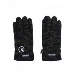 "seedleSs 手袋 ""SD THISULATE GLOVE"" (Green Camo)"