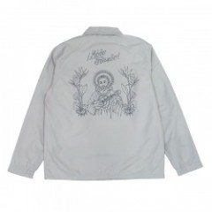 "RADIALL コーチジャケット ""RICO WINDBREAKER JACKET"" (Gray)"