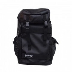 "THRASHER リュック ""BACKPACK THRPN-8900"" Black/Mag Logo"