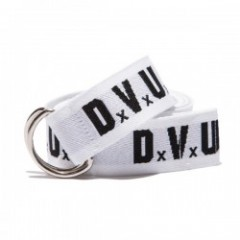 "Deviluse ベルト ""DVUS RING BELT"" (White/Black)"