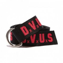 "Deviluse ベルト ""DVUS RING BELT"" (Black/Red)"
