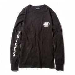 "Deviluse ""WOMAN LIVE IN FREEDOM L/S TEE"" (Black)"