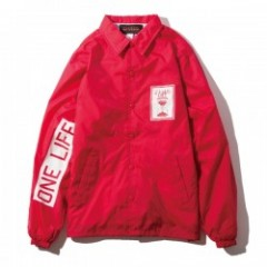 "Deviluse コーチジャケット ""ONE LIFE COACH JKT"" (Red)"