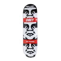 "OBEY スケートデッキ ""OBEY 3-FACE 25 YEARS"""