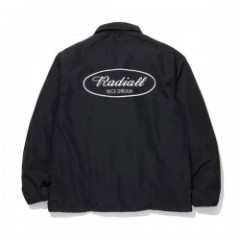 "RADIALL コーチジャケット ""OVAL WINDBREAKER JACKET"" (Black)"