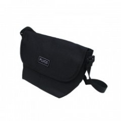 "PLUGS ミニショルダーバッグ ""MINI SHOULDER BAG"" (Black)"