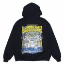 "RADIALL パーカ ""LONG BEACH HOODIE SWEATSHIRT L/S"" (Black)"