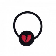 "Deviluse ヘアゴム ""DEVILHEART HAIR ELASTIC"" (Black)"